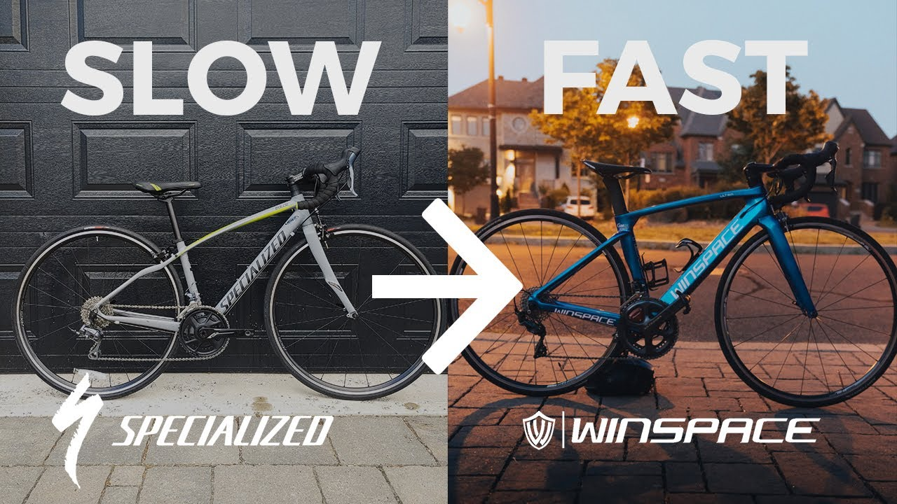 Upgrading My Girlfriend's Bike With Spare Parts for Less Than 1000$ - Winspace T1500D
