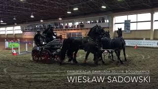 Wiesław Sadowski; Kwalifikacja Cavaliada 2017/18; Bogusławice