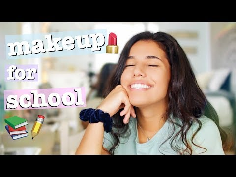 Glowy & Natural Drugstore Makeup Tutorial for School!!!