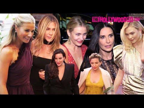 Gwyneth Paltrow, Jennifer Aniston, Cameron Diaz & More Attend StarStudded Engagement Bash