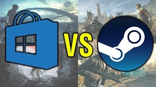 Windows Store vs Steam | Gaming Performance Comparison in 4 Games