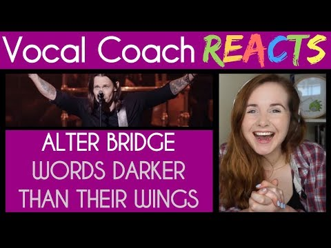 """Vocal Coach reacts to Alter Bridge: """"Words Darker Than Their Wings"""" Live At The Royal Albert Hall"""