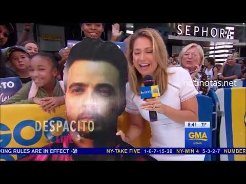 Luis Fonsi   Performs Despacito GMA LIVE