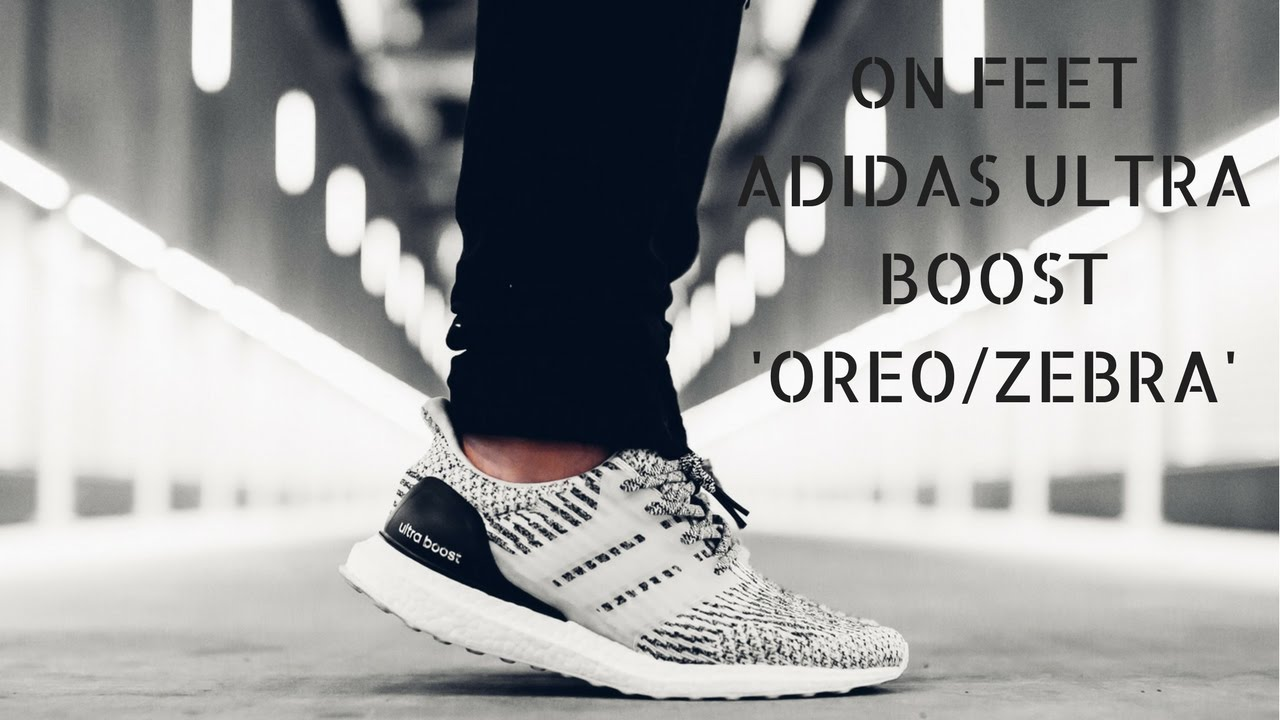 d349983f2931d Adidas Ultra Boost 3.0 Oreo Zebra - Quick ON Feet - YouTube