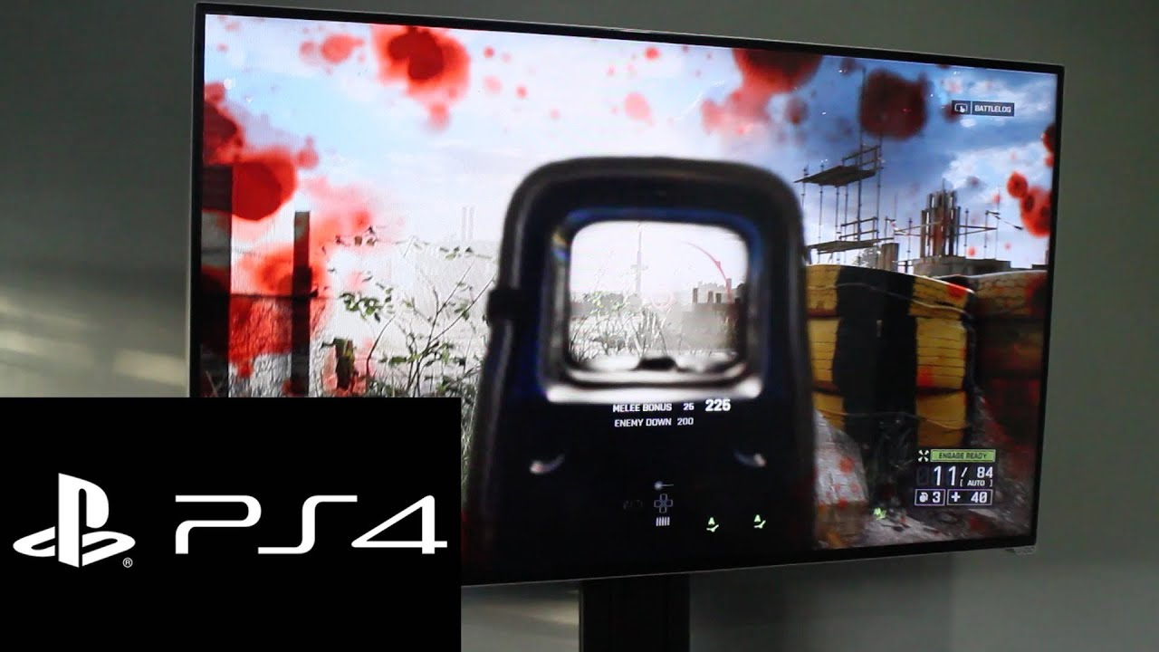 Vizio 50 Inch M Series M501d A2r Battlefield 4 On Ps4