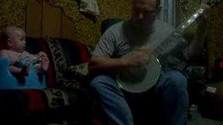 Indian Ate the Woodchuck Clawhammer Banjo