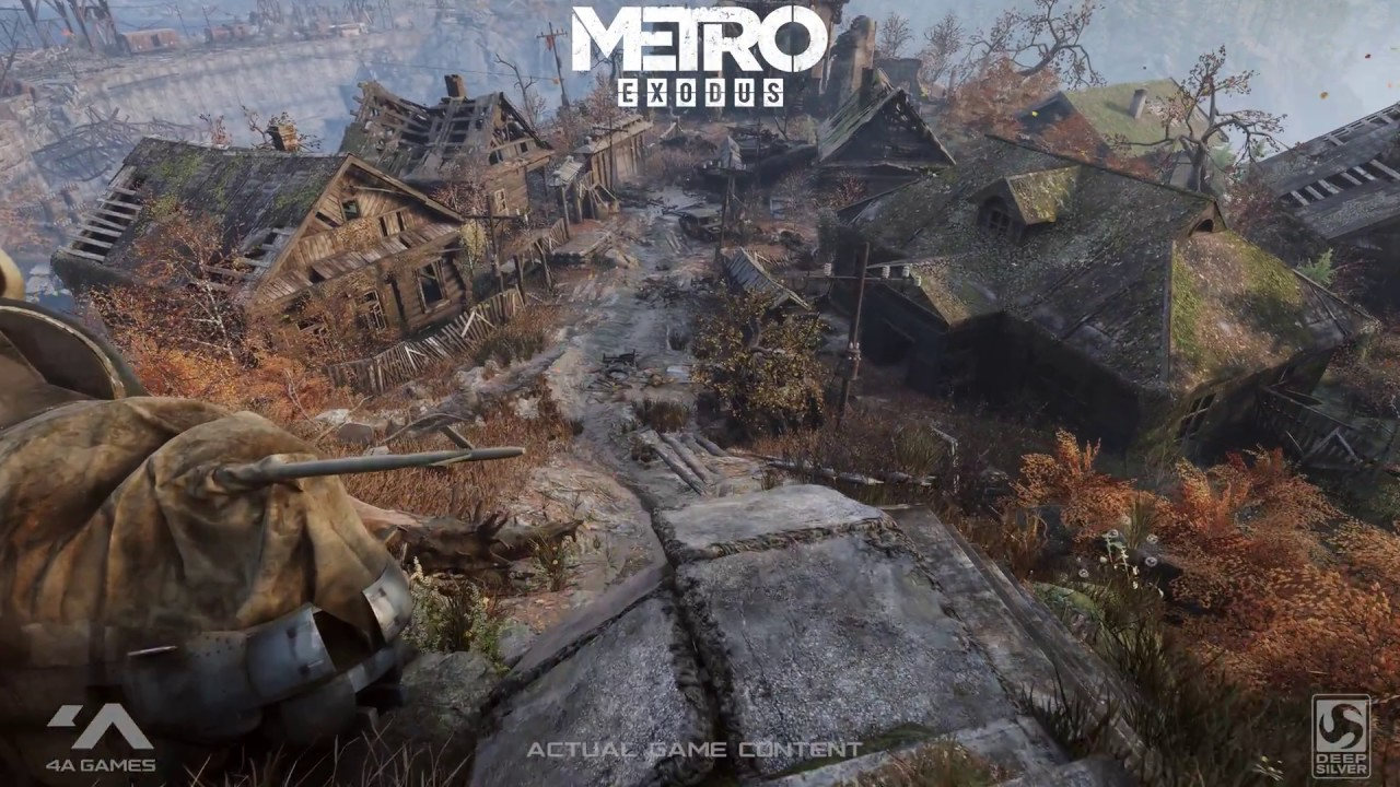 Metro 2033 Wallpaper Hd Gdc 2018 Tech Demo Nvidia Rtx Real Time Ray Tracing In