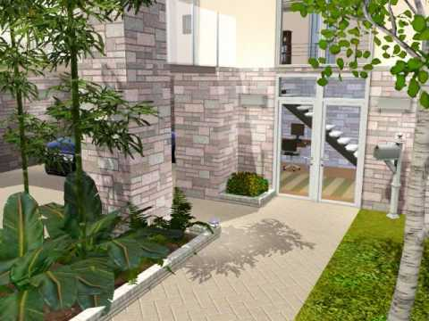 Sims 3 Contemporary Family Home Youtube