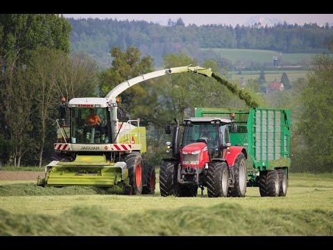 Ensilage d'herbe printemps 2017