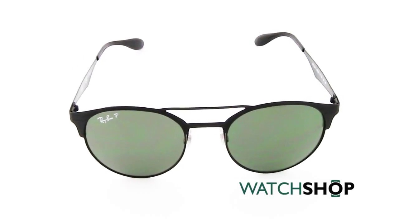 cbb5555680 Ray-Ban RB3545 Sunglasses (RB3545-186 9A-51) - YouTube