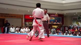 1st Malaysia Open Bare Knuckle Kyokushin-kan Karate Championship Compilation 1