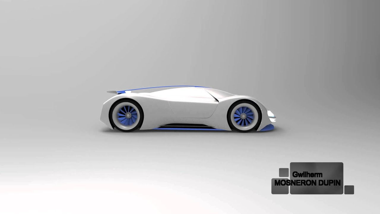 Porsche concept Le Mans 2035 - YouTube on