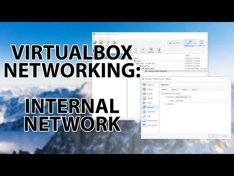 Repeat How to setup Internal Network Lab using VirtualBox
