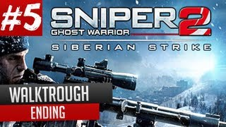 Sniper Ghost Warrior 2 Siberian Strike Ending Last Mission Last Rites Gameplay PC