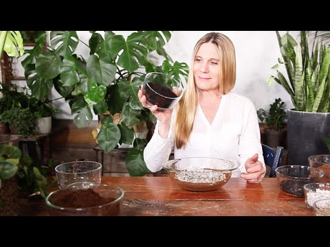 Potting Soil Mixture For Indoor Plants :  Make Your Own!
