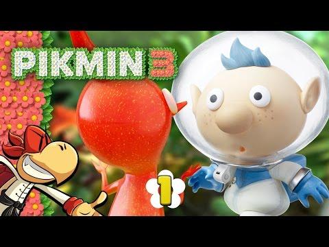 Pikmin 3 - Day 1 - Wild Encounter, Pikmin!