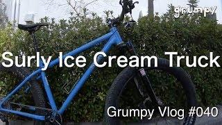 ウィリーの仕方で乗ってたSurly Ice Cream Truckの仕様について