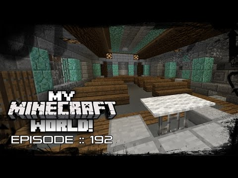MY MINECRAFT WORLD! | SEASIDE CATHEDRAL! | Episode 192 (Let's Play 1080p)