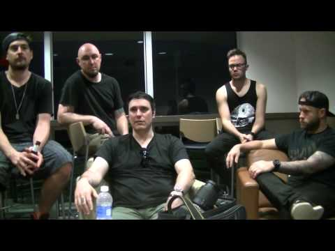 Breaking Benjamin interview by Marisa Williams