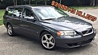 We Bought A $45,000 M3 Killing Volvo V70R For Only $3,900