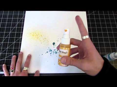 How To :: Splatter Mists & Paints