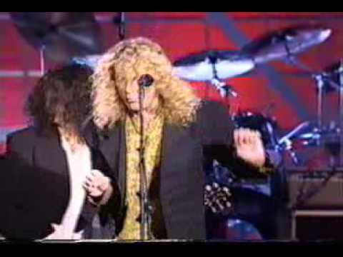 robert plant jimmy page steven tyler & joe perry   bring it on home mpg
