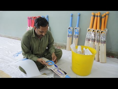 Cricket Bat Making - How a Pakistani Bat Manufacturer Shaped Cricket