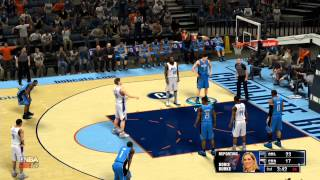 NBA 2K14 Gameplay - Orlando Magic vs Charlotte Bobcats Full Game