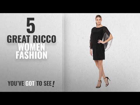 c6adce0a Ricco Women Fashion [2018 Best Sellers]: Donna Ricco Women's Velvet Burnout  with Chiffon Layover - YouTube