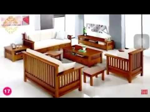 dekorasi ruang tamu kayu jati | desainrumahid