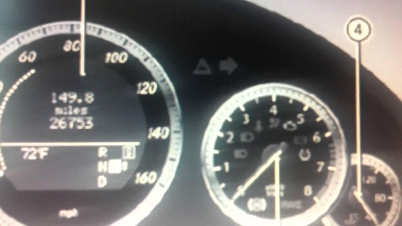 Mercedes e class w212 dashboard warning lights symbols for Mercedes benz dashboard lights not working