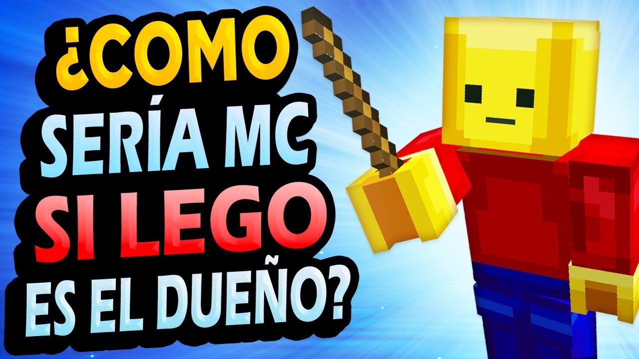 ¿Qué Pasaría Si Lego HUBIESE COMPRADO Minecraft?
