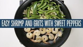 Easy Shrimp and Grits with Sweet Peppers  Recipes  365 by Whole Foods Market