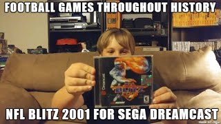 Football Games Throughout History! NFL Blitz 2001 on Sega Dreamcast - Gameplay and reivew