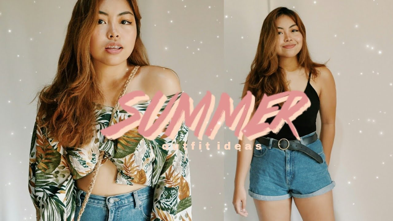 SUMMER OUTFIT IDEAS | Chelsea Valencia (Philippines)