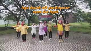 AYAM DEN LAPEH, RIA AMALIA/lagu Daerah Utk Pendinginan Zumba/vtwo Coreografie