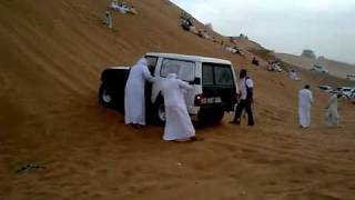 nissan patrol 4x4 race night.flv