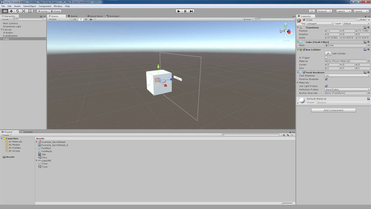 Unity 5 Tutorial: Canvas Render Modes