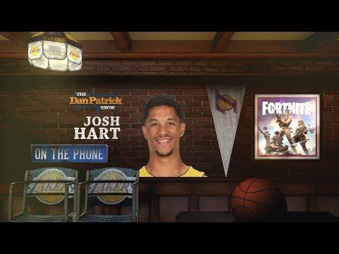 Lakers G Josh Hart On His 10-Hour Fortnite Sessions | The Dan Patrick Show | 3/23/18