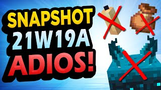 ✅ 1.17 Snapshot 21W19A 👉 ADIOS BLOQUES!! - Minecraft