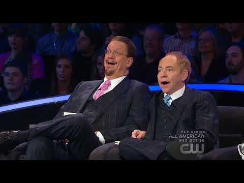 MURRAY The Magician on Penn & Teller 'Fool Us'