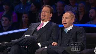 MURRAY The Magician on Penn & Teller