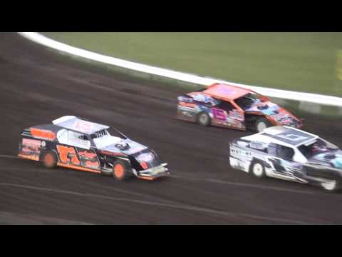 IMCA Modified Heats Farley Speedway 7/14/17