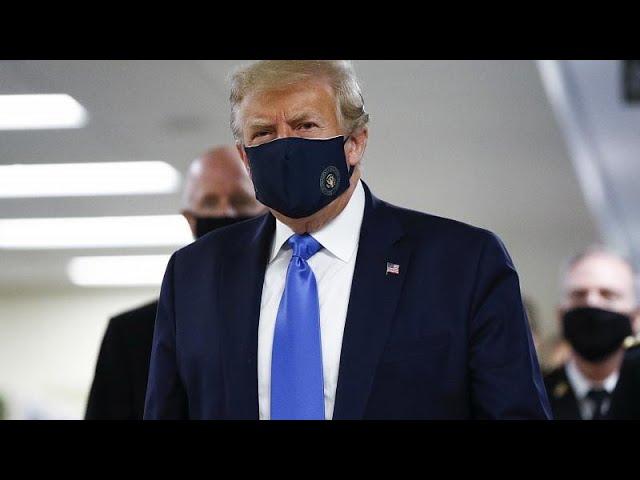 <span class='as_h2'><a href='https://webtv.eklogika.gr/dimosia-me-maska-o-tramp' target='_blank' title='Δημόσια με μάσκα ο Τραμπ'>Δημόσια με μάσκα ο Τραμπ</a></span>
