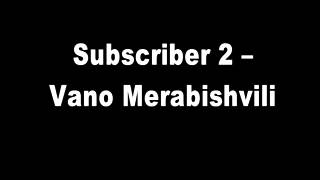 A telephone conversation between Subscriber 2 and Vano Merabishvili. conv.1