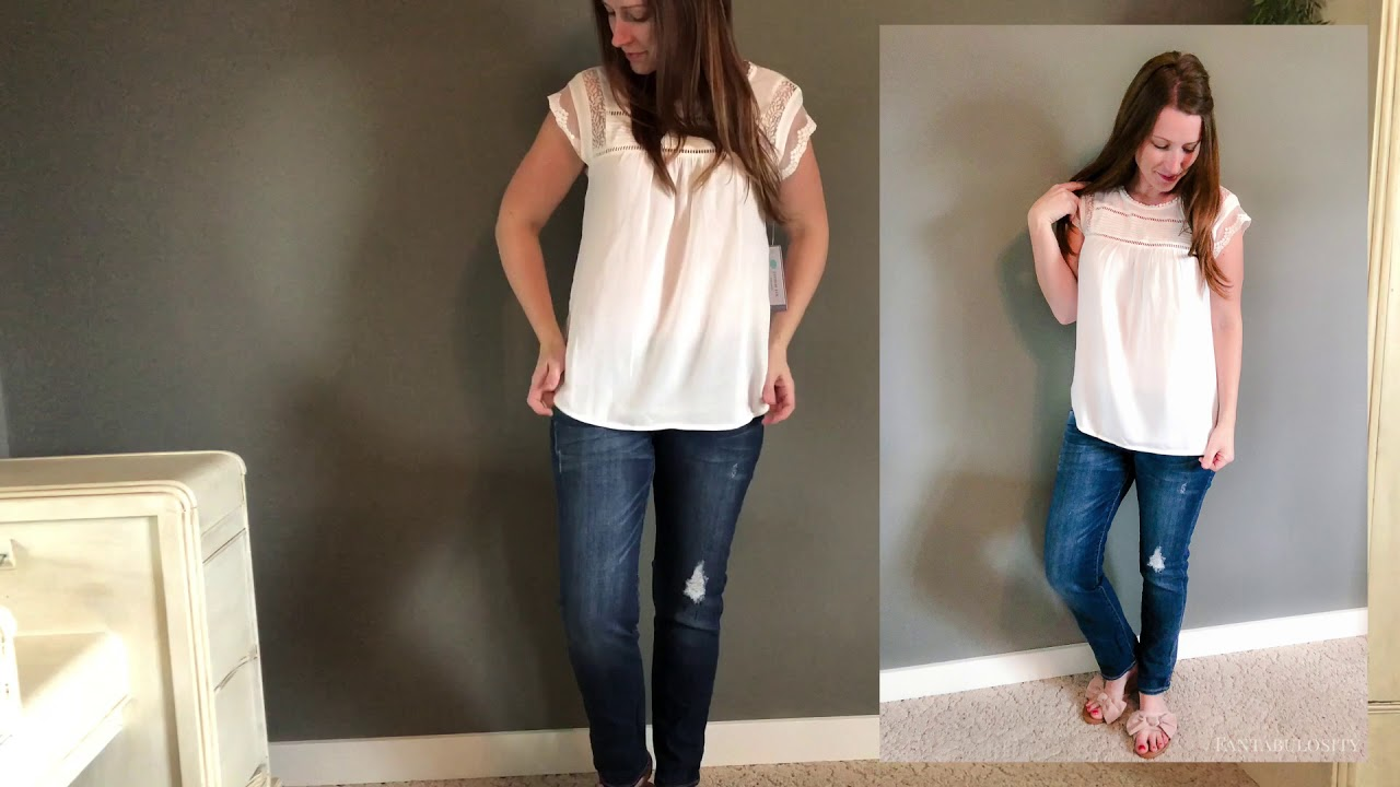 93d9b5f99e1 Stitch Fix April 2018 Try On Video Review - YouTube