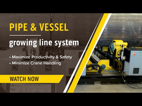 Pipe & Vessel Growing Line System Demo & Review