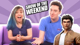 Show of the Weekend: Shenmue 3 and Ellen's Chicken-Catching Reaction Challenge