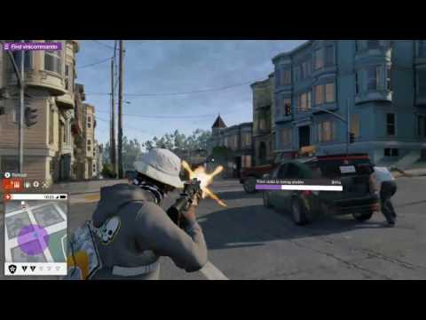WATCH DOGS 2 SOMEONE STEALING MY DATA!!!