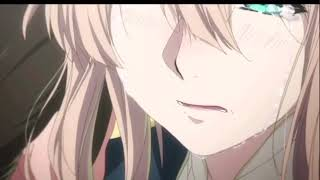 A M V  Violet Evergarden【 if the world was ending